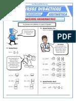 Fracción Generatriz Para Segundo de Secundaria(1)