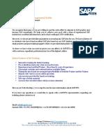 SAP Treasury and Risk Management Course Content pdf