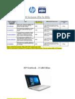 HP Offer