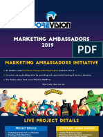ForeVision_Marketing Ambassadors 2019