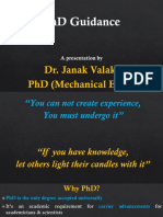 PhD Guidance