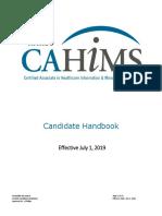 CAHIMS Handbook_2019