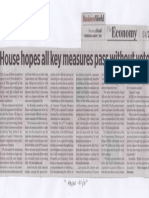 Business World, Aug. 7, 2019, House hopes all key measures pass without veto.pdf