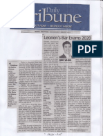 Daily Tribune, Aug. 7, 2019, Leonen's Bar Exams 2020.pdf