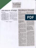 Daily Tribune, Aug. 7, 2019, Zero delay on 20 budget.pdf