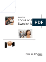 Sweden Imports Rice Pulses Juni2010