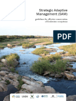 Strategic Adaptive Management SAM Guidelines for Effective Conservation of Freshwater Ecosystems