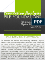 5.3_Pile Foundations_Pile-Driving Formulas_Negative Skin Friction_Group Piles (Part 3)