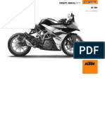 KTM RC 390 Owners Manual