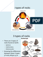 3 Types of Rocks Ppt