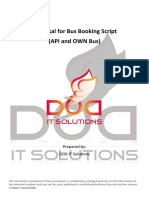 Proposal for Bus Booking Script API Own DOD