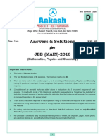 jee main code d solution