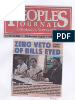 Peoples Journal, Aug 7, 2019, Zero veto of bills eyed.pdf