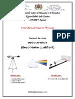 Optique Géomitrique Et Ondes