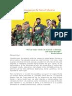 Manifiesto Bolivariano Por La Nueva Colombia