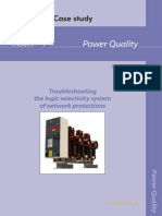 Case Studies Troubleshooting Logic Selectivity System of Network Protections