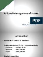 dr. Trunojoyo, SpS Stroke - The Rational Management of Stroke.pdf