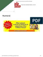 Atividades de Numeral Prontas Para ImprimirSala de Atividades