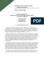 Clinton H 2010-01-21 Sur La Liberte DInternet