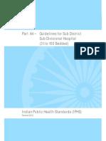 Part a4 Sub District Hospital