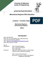 Engineering Measurements Presentation