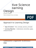Cognitive Science and Learning Design_wip
