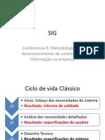 SIG Conferencia 6