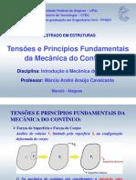 Tensões e Princípios Fundamentais da Mecânica do Contínuo.pdf
