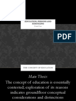 Education Persons and Schooling