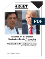 Pakistan US ties