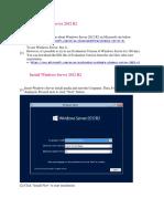 1-Get Windows Server 2012 R2 Install Configure NTP
