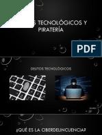 Delitos Y Pirateria Informatica