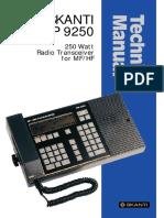 TRP 9250 (Technical manual).pdf