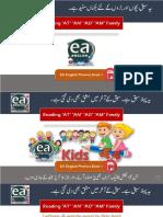 EA PHONICS Basic English Reading at an AD AM Family PDF Book 1 Lesson 2
