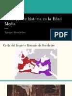 Concepto de Historia en La Edad Media