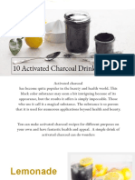 10 Activated Charcoal Drink Recipes.pdf