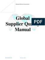 GM 1927 Supplier Quality Manual 2018 REV21