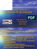 Curso Masaje - Inés Gómez.pps