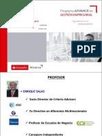 Presentación Enrique Salas Un Nuevo Managment