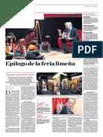 Epílogo de La Feria Limeña