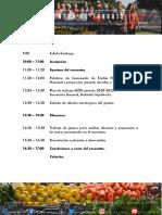 Programa Encuentro Asof 19 Agosto 2019