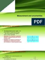 Measurement and Uncertainties