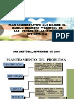 Plan Administrativo.