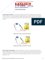 Medicion de Componentes Electronicos _ Ingenieria a Nivel Industrial