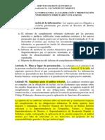 Nac-dgercgc15-00003218 Normas Para La Elaboración y Presentación Del Ict