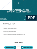consumer behaviour on television