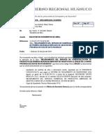 Solicitud de Documentos a Secretaría General