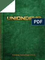 Katalog UD Namestaj 2019