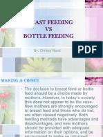 Breastfeeding vs Bottle Feeding