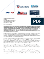 7-31-19 Coalition Letter Opposed to US Interference in Ongoing VZ Property Rights Litigation